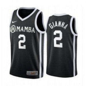 Mamba Gianna Bryant Kobe Basketball Black Jersey
